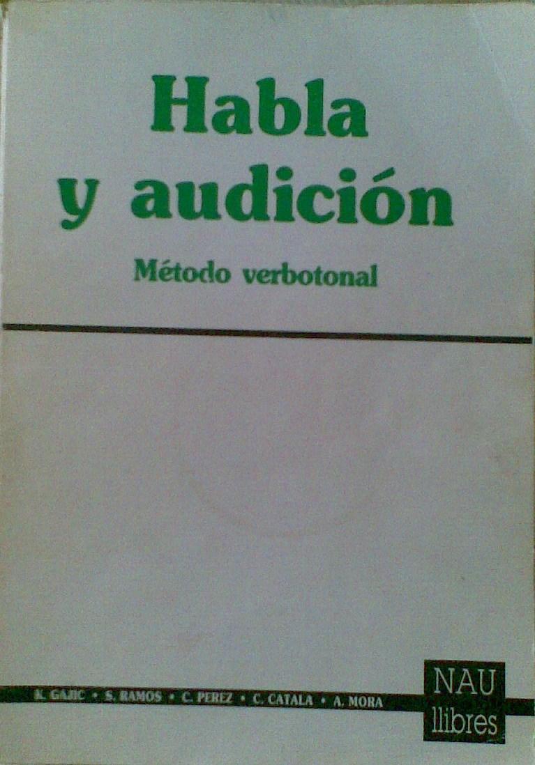Libro habla audición